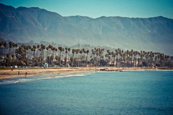 Beach in Santa Barbara CA