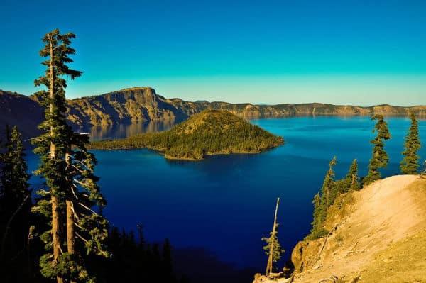 Crator Lake in Oregon