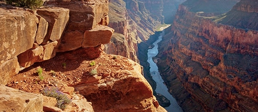 Colorado River in the Grand Canyon National Park