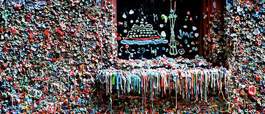 Bubble Gum Alley in San Luis Obispo
