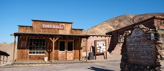 Calico Ghost Town Building