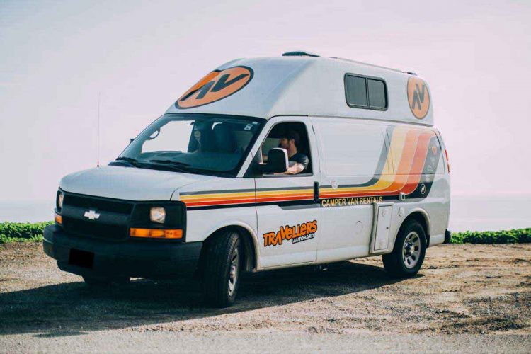Kuga Campervan Rental & RV Rentals | Travellers Autobarn USA
