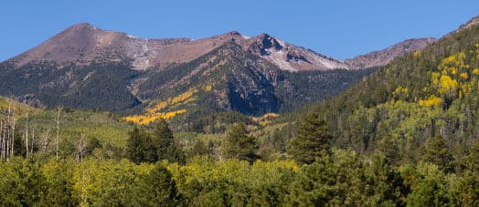 San Francisco Peaks in Flagstaff Arizona