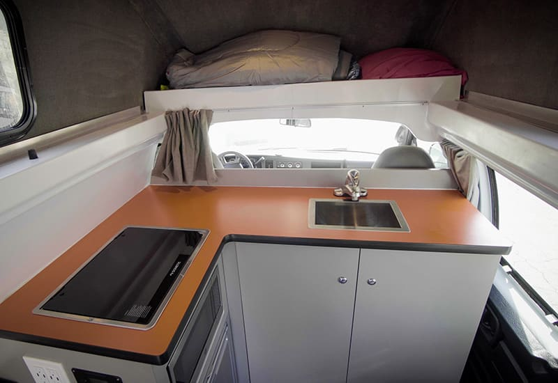 Kuga Campervan Kitchenette