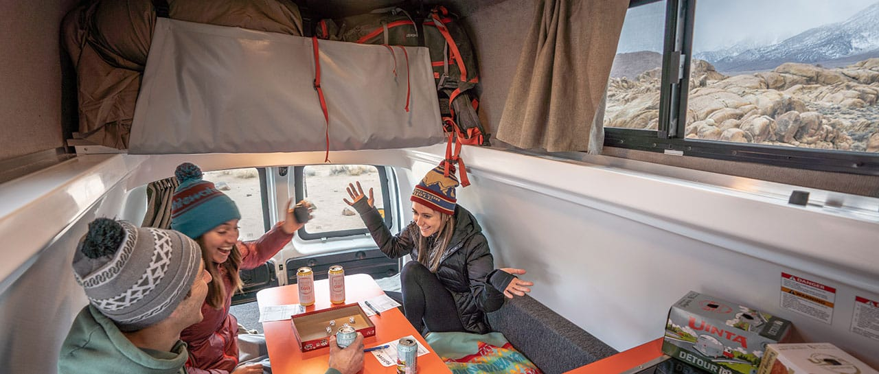 Campervans from just $59/day!