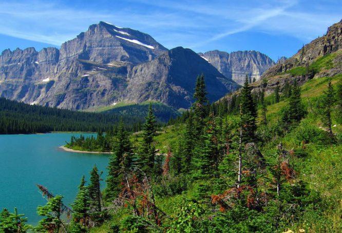 Glacier National Park trails