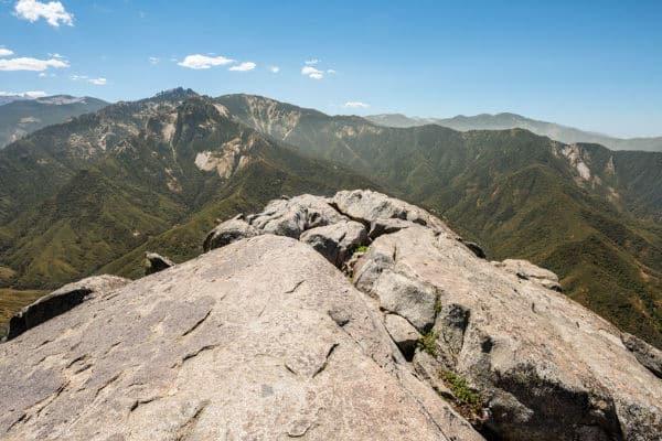 Moro Rock in Sequoia National Park