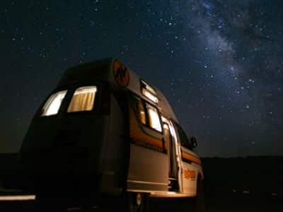 Hitop & Kuga Campervan stargazing