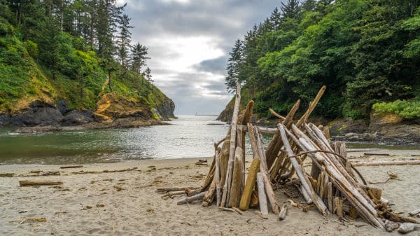Cape disappointment trail'