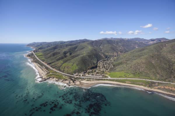 Aerial View of Leo Carrillo State Park