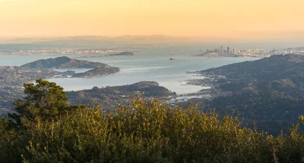 View from East Peak of Mount Tamalpais