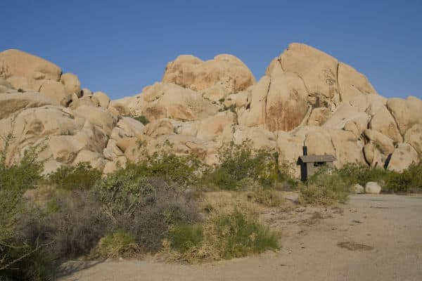 Indian Cove Campground in Joshua Tree