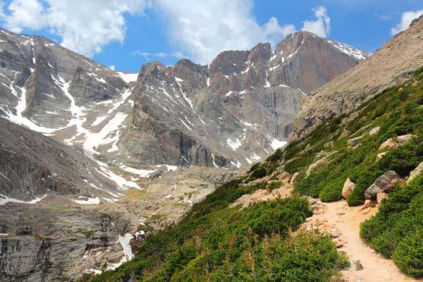 Longs Peak Trail in Rocky Mountain National Park