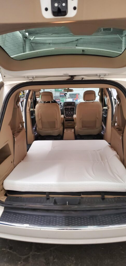 Foldable Foam Mattress - MiniVan Rental US