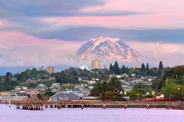 Mount Rainier in Tacoma