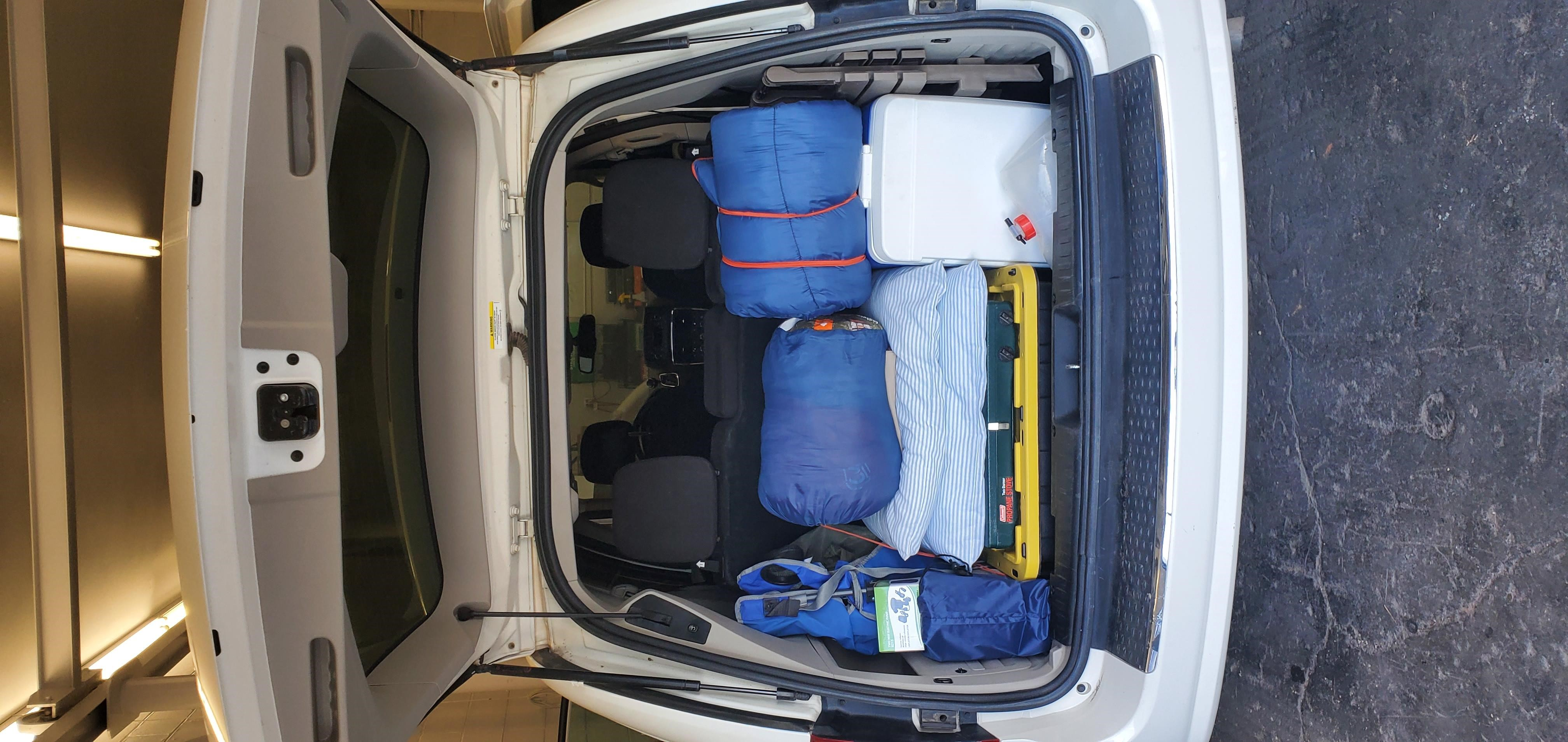 Portable Inflatable Air Mattress Space - Minivan Rental US