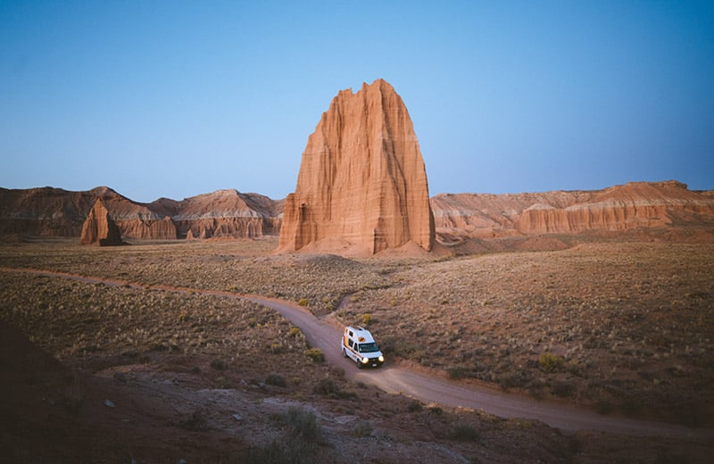 Capitol Reef National Park Summer Campervan Road Trip Destinations in the USA