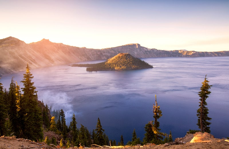 Crater Lake National Park Summer Campervan Road Trip Destinations in the USA