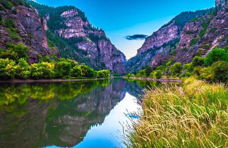 Glenwood Springs Colorado Summer Campervan Road Trip Destinations in the USA