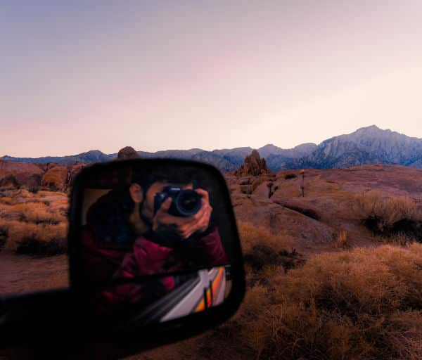 Jose Mostajo in Travellers Autobarn campervan