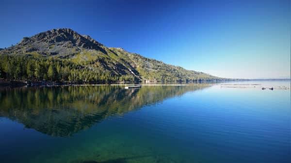 Fallen Leaf Lake in South Tahoe